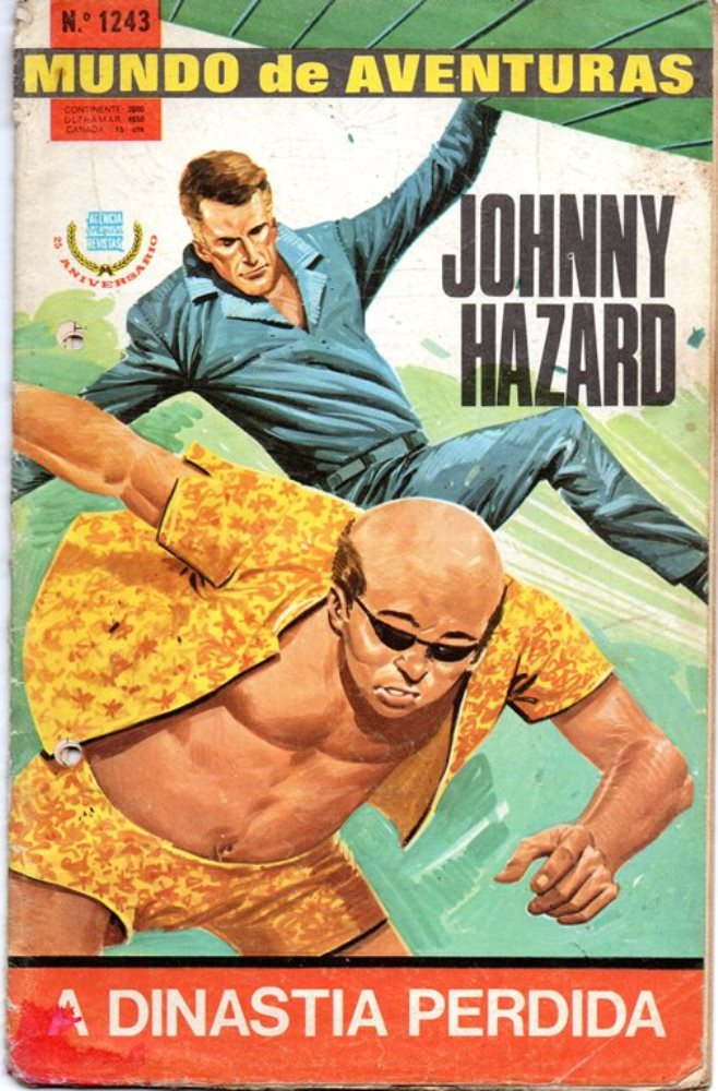 JOHNNY HAZARD - 6 . DINASTIA PERDIDA (A)