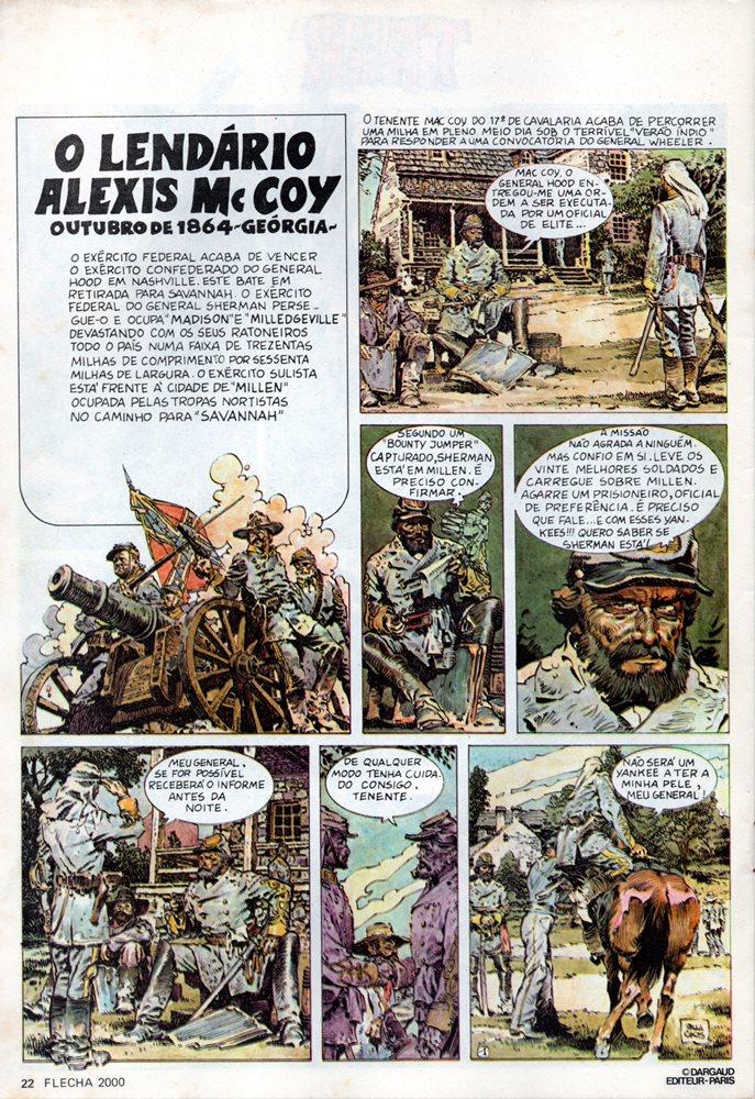 Prancha de: MAC COY - 1 . LENDÁRIO ALEXIS MAC COY (O)