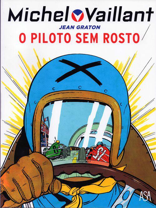 MICHEL VAILLANT - 2 . PILOTO SEM ROSTO