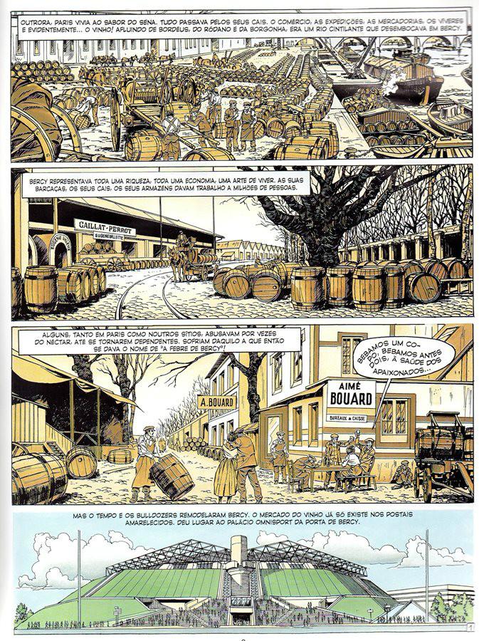 Prancha de: MICHEL VAILLANT - 61 . FEBRE DE BERCY (A)