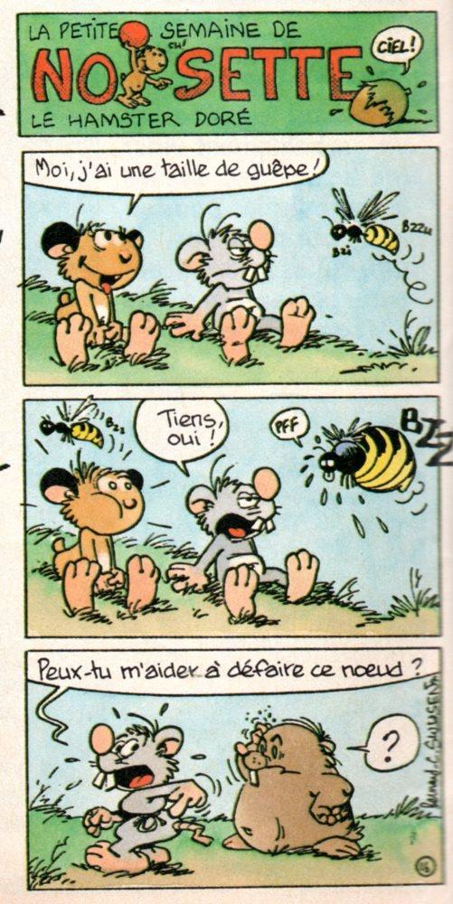 NOISETTE LE HAMSTER DORÉ