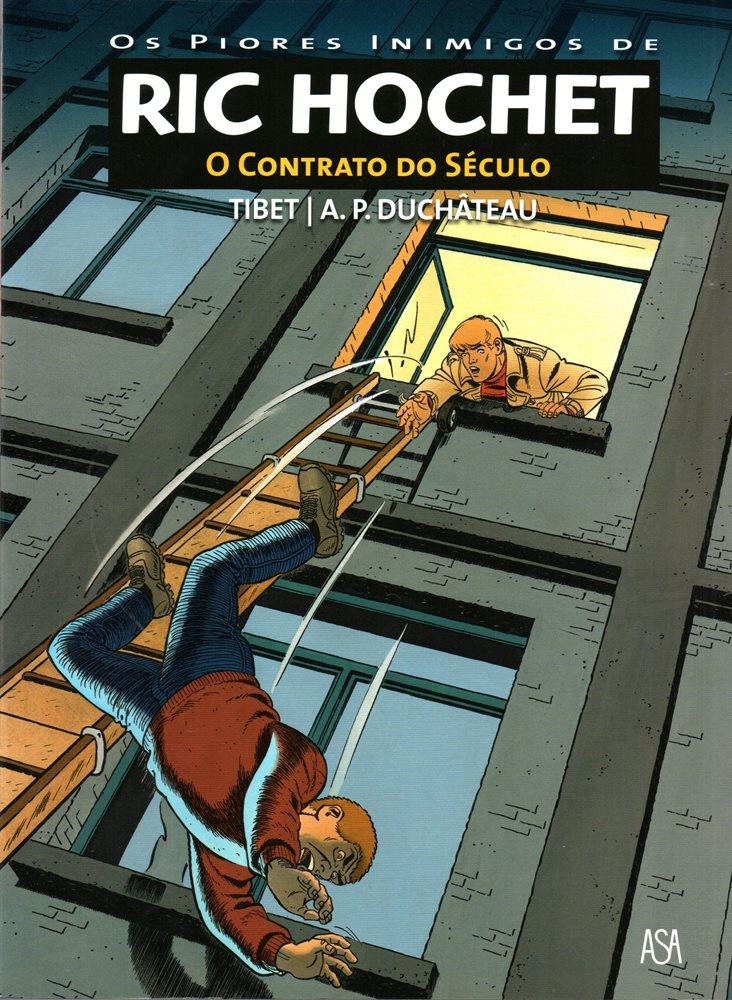 RIC HOCHET - 64 . CONTRATO DO SÉCULO (O)