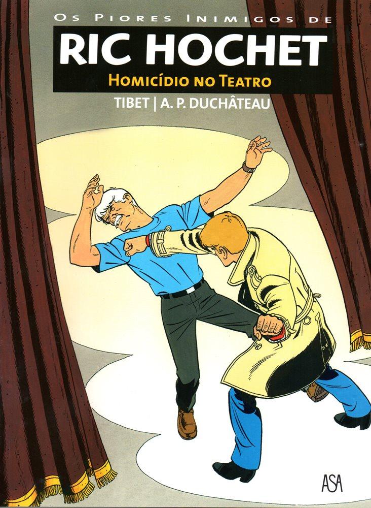 RIC HOCHET - 73 . HOMICÍDIO NO TEATRO