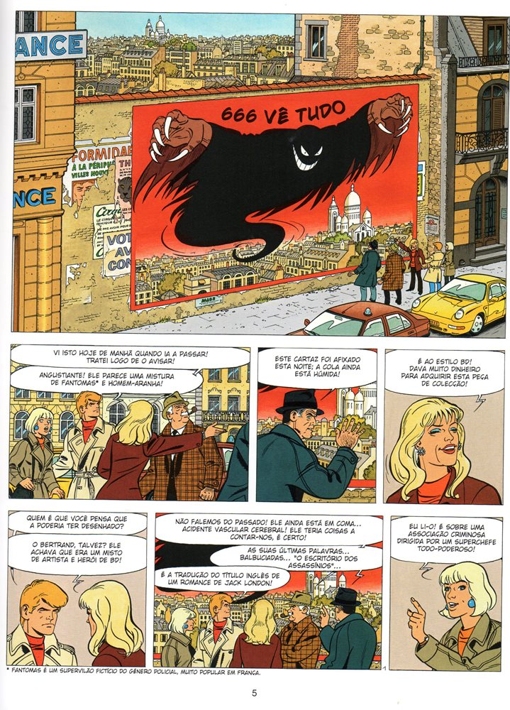 Prancha de: RIC HOCHET - 68 . COLECCIONADOR DE CRIMES (O)