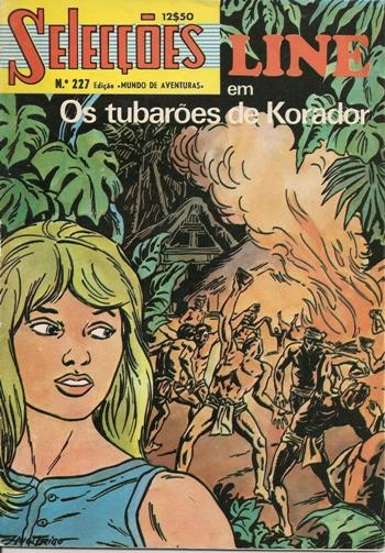 LINE - 1 . SEGREDO DO BUCANEIRO (O) + TUBARÕES DE KORADOR (OS)