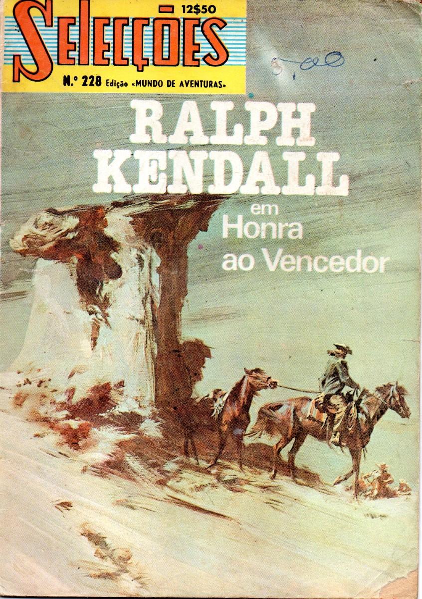 RALPH KENDALL - 1 . HONRA AO VENCEDOR