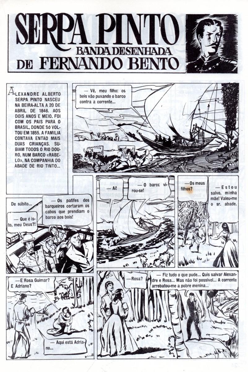 Prancha de: SERPA PINTO - 1 . VIDA AVENTUROSA DE SERPA PINTO (A)