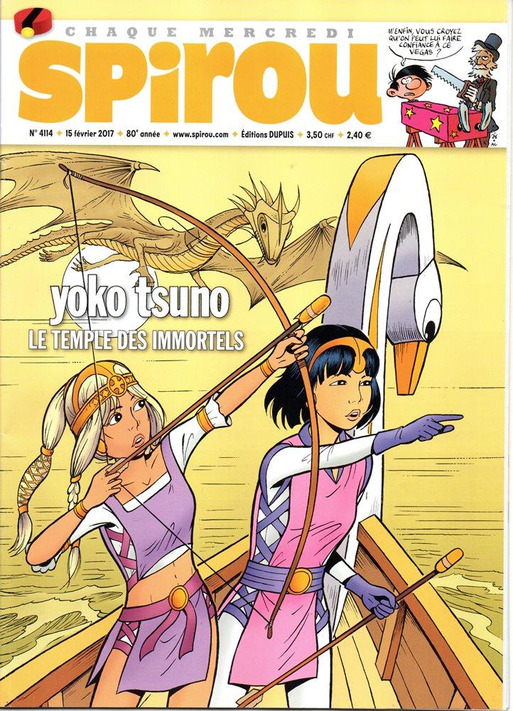 YOKO TSUNO - 28 . TEMPLE DES IMMORTELS (LE)