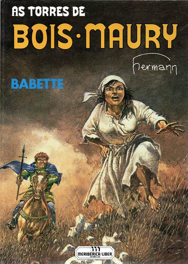 Capa  TORRES DE BOIS-MAURY (AS) - 1 . BABETTE
