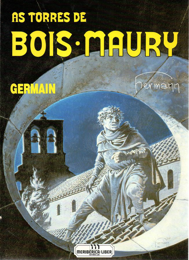 Capa de: TORRES DE BOIS-MAURY (AS) - 3 . GERMAIN