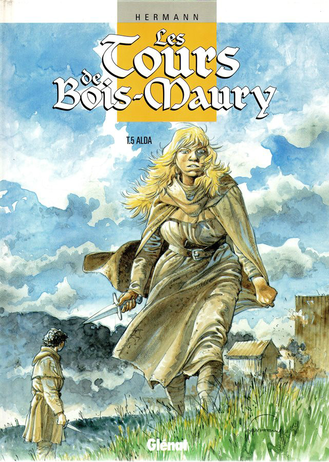 Capa  TORRES DE BOIS-MAURY (AS) - 5 . ALDA