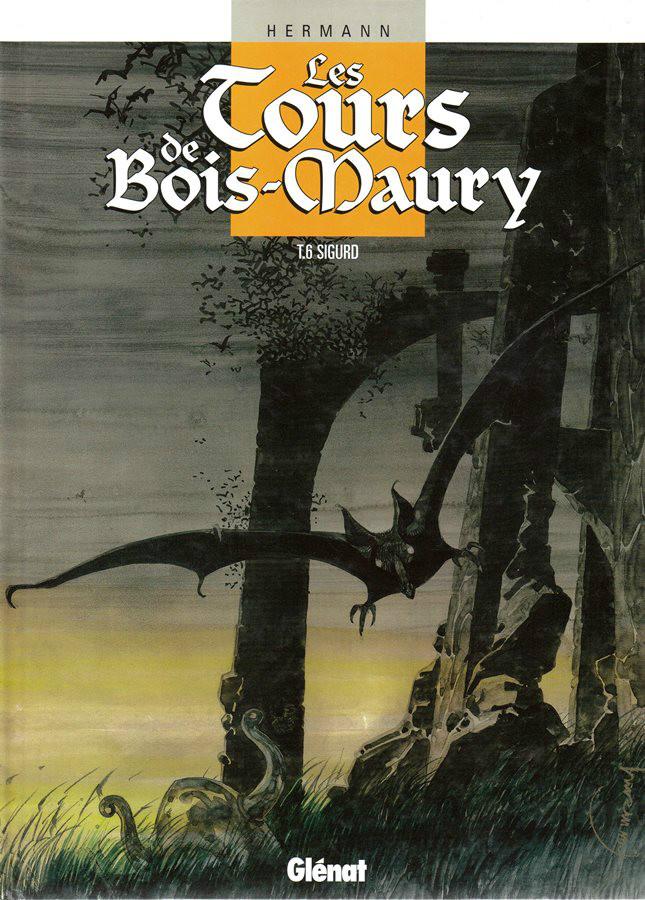Capa  TORRES DE BOIS-MAURY (AS) - 6 . SIGURD