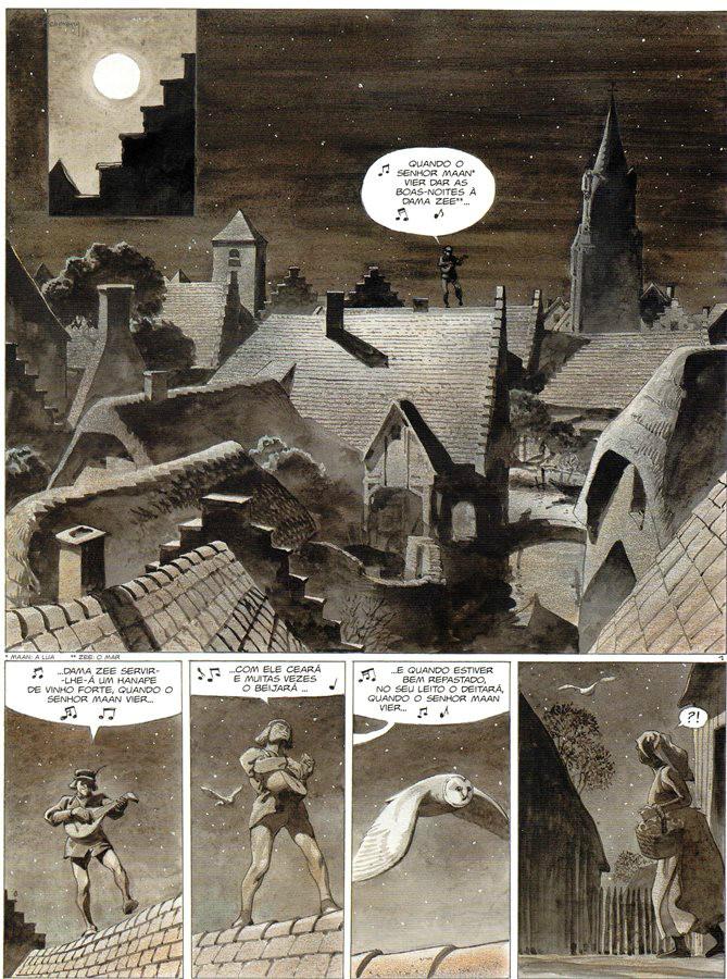 Prancha de: TORRES DE BOIS-MAURY (AS) - 13 . DULLE GRIET