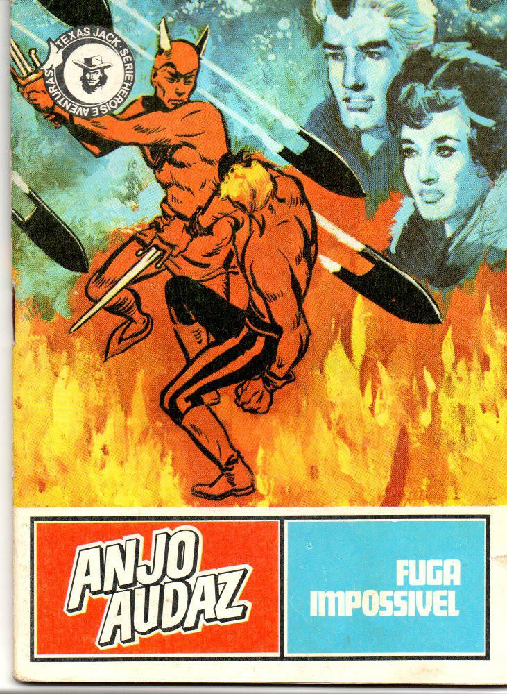 ANJO AUDAZ - 3 . FUGA IMPOSSÍVEL