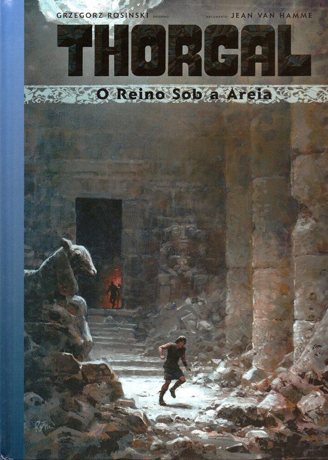 Capa  THORGAL - 26 . REINO SOB A AREIA (O)