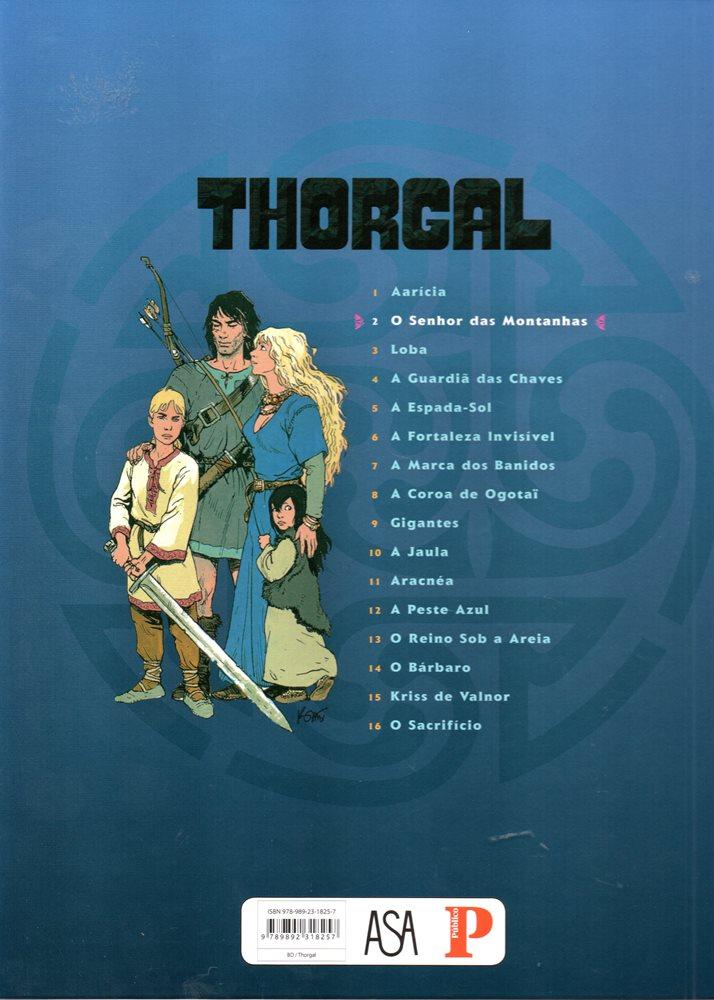 Prancha de: THORGAL - 15 . SENHOR DAS MONTANHAS (O)