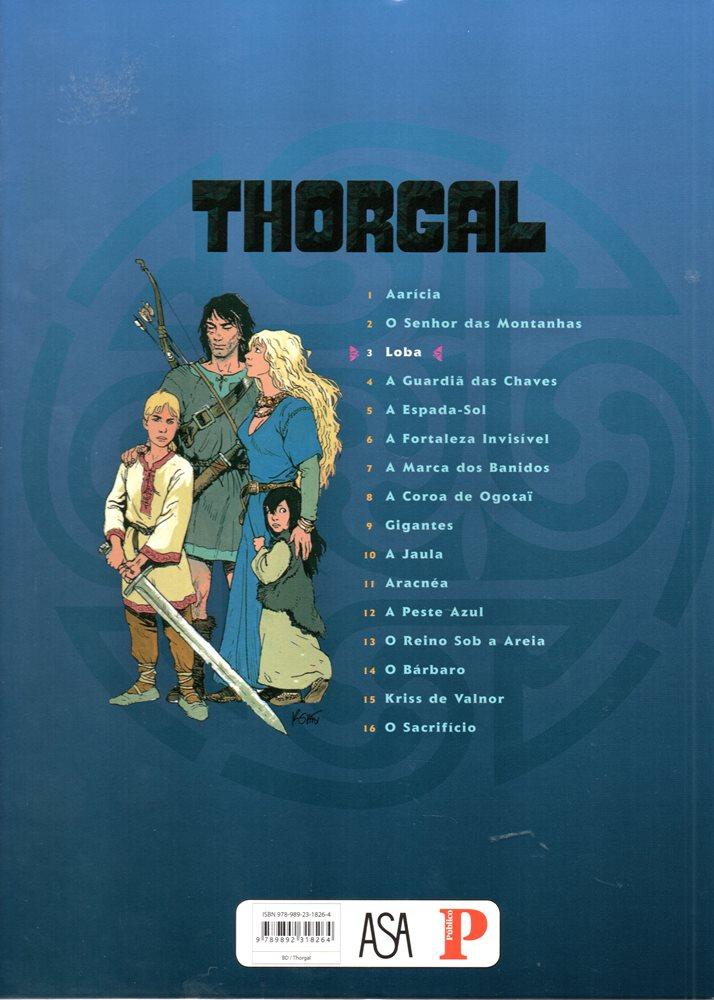Prancha de: THORGAL - 16 . LOBA