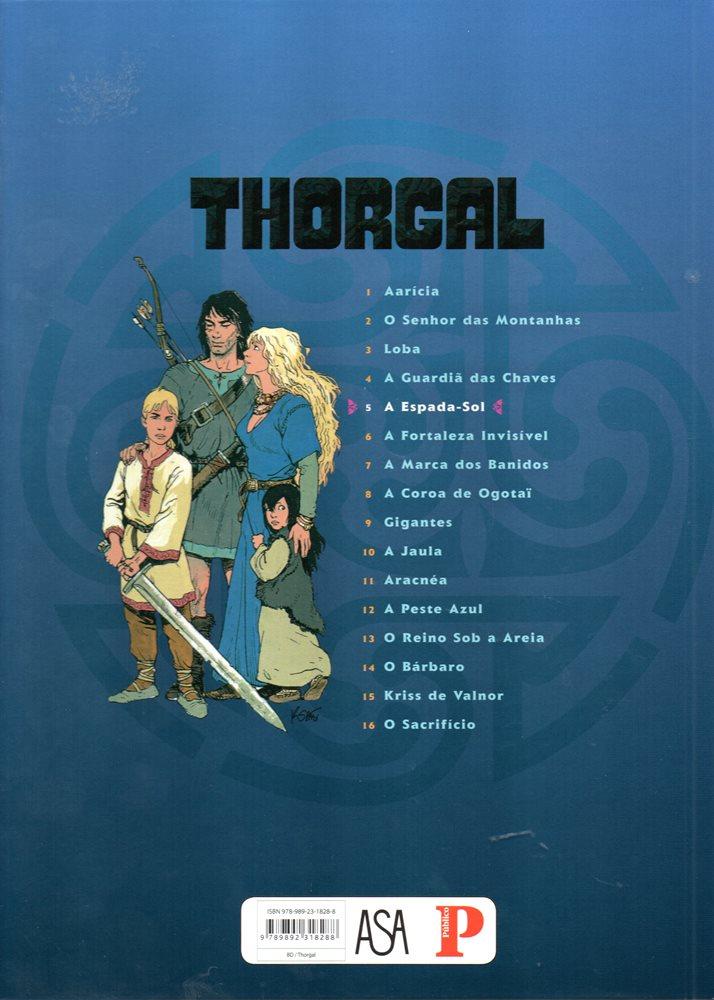 Prancha de: THORGAL - 18 . ESPADA-SOL (A)