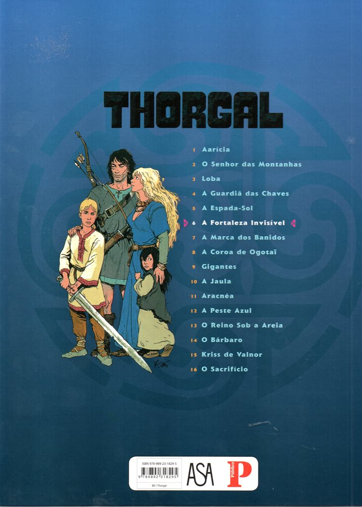 Prancha de: THORGAL - 19 . FORTALEZA INVISÍVEL (A)