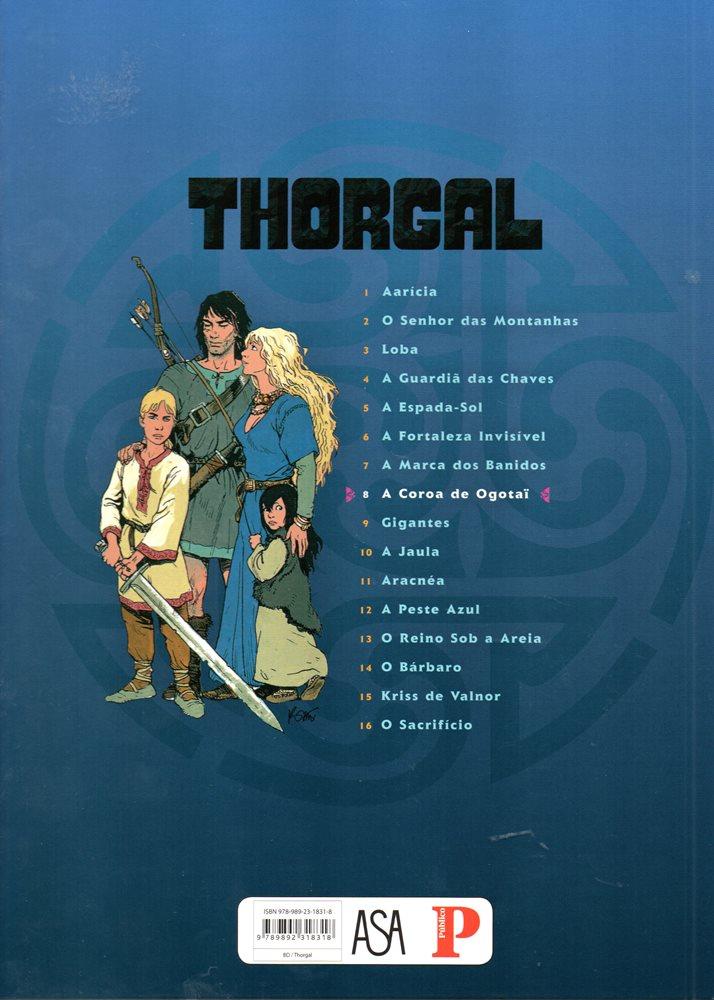 Prancha de: THORGAL - 21 . COROA DE OGOTAI (A)