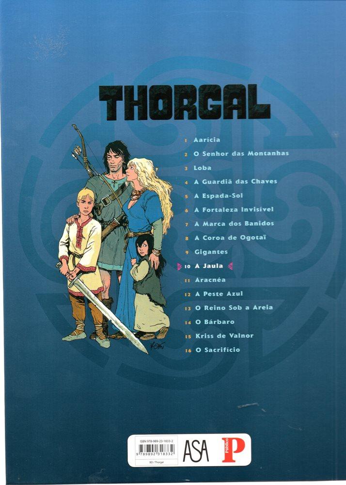 Prancha de: THORGAL - 23 . JAULA (A)