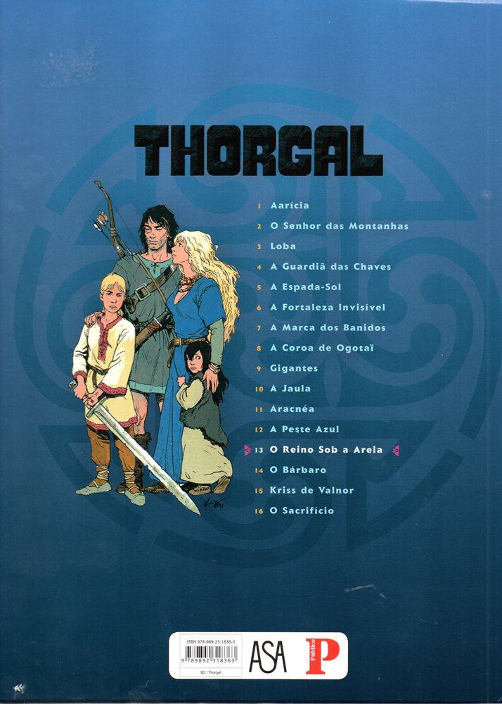 Prancha de: THORGAL - 26 . REINO SOB A AREIA (O)