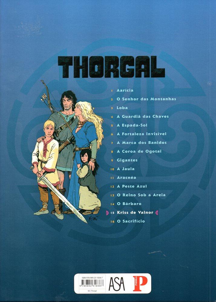 Prancha de: THORGAL - 28 . KRISS DE VALNOR