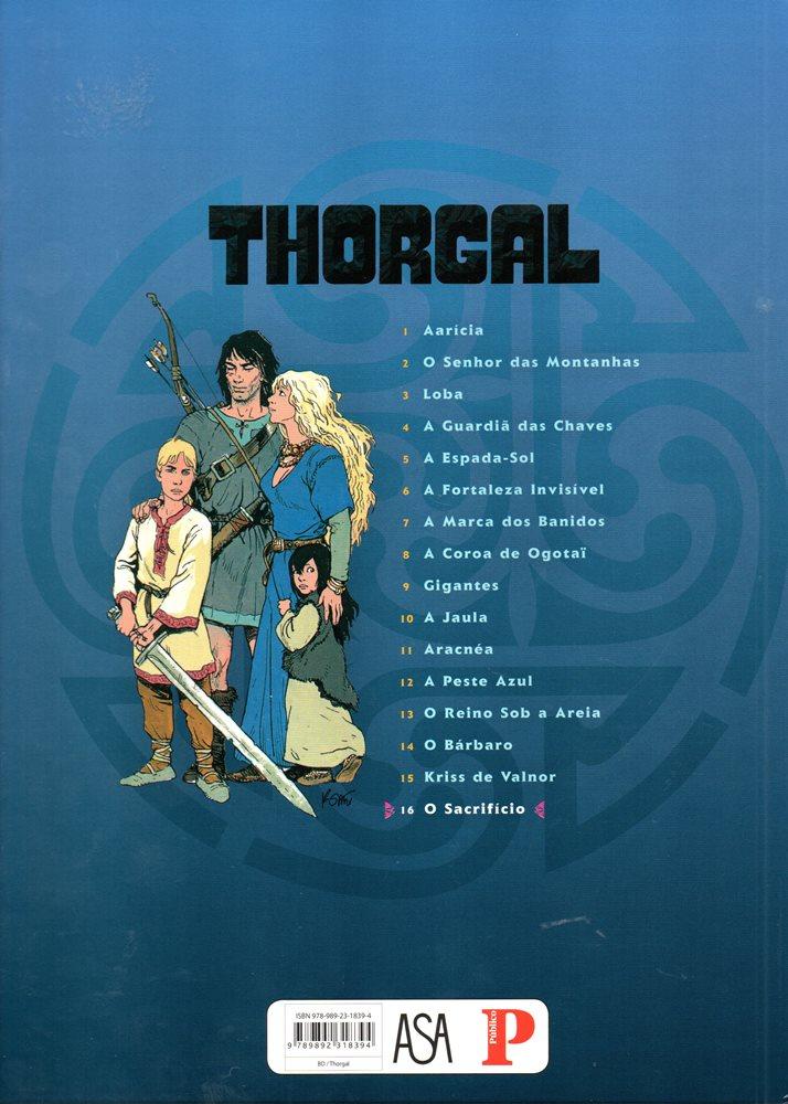 Prancha de: THORGAL - 29 . SACRIFÍCIO (O)