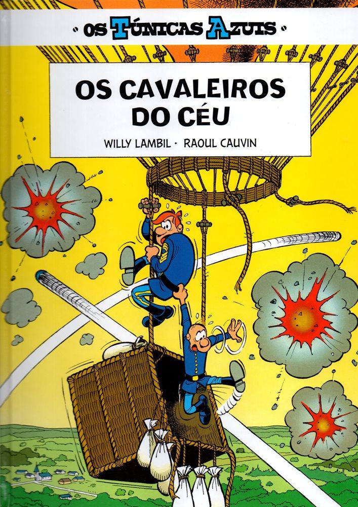 TÚNICAS AZUIS (OS) - 8 . CAVALEIROS DO CÉU (OS)