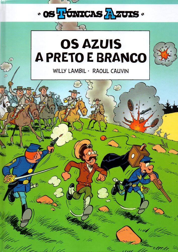 TÚNICAS AZUIS (OS) - 11 . AZUIS A PRETO E BRANCO (OS)