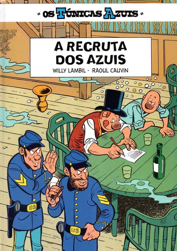 TÚNICAS AZUIS (OS) - 18 . RECRUTA DOS AZUIS (A)