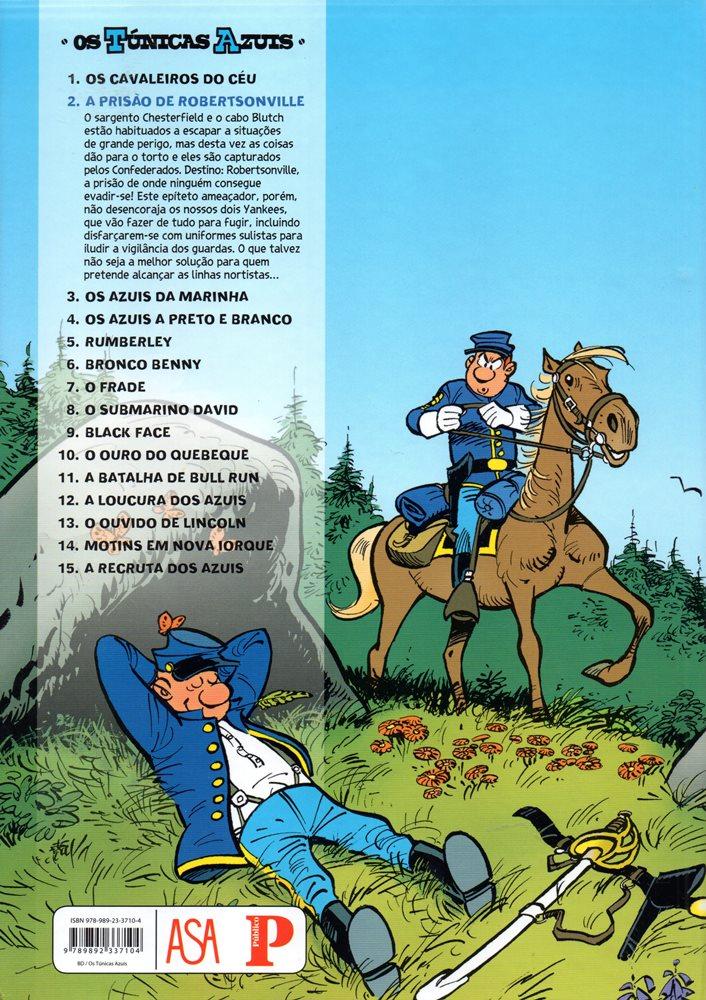 Prancha de: TÚNICAS AZUIS (OS) - 6 . PRISÃO DE ROBERTSONVILLE (A)