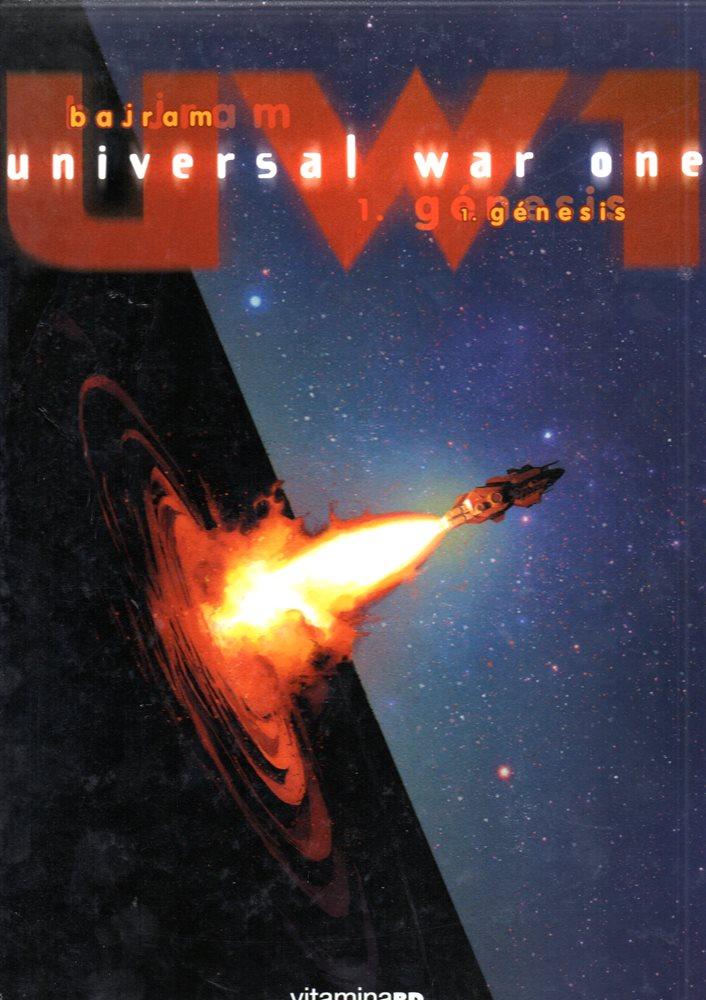 Capa  UNIVERSAL WAR ONE - 1 . GÉNESIS