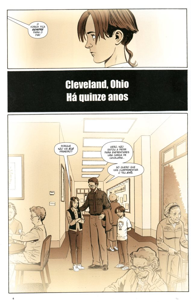 Prancha de: Y: O ÚLTIMO HOMEM - 4 . SENHA (A)