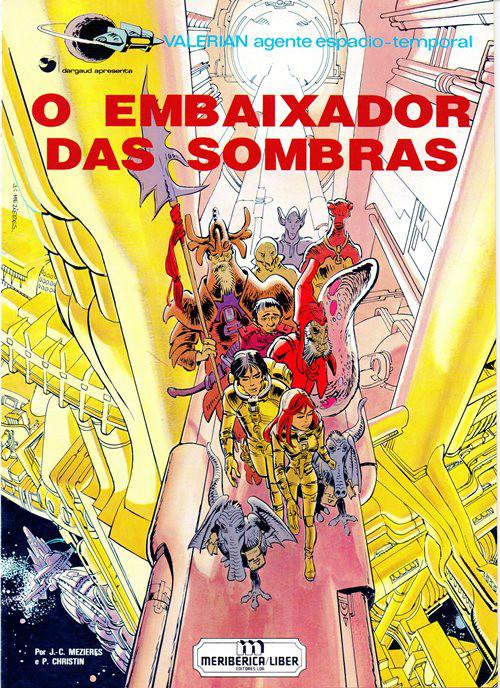 Capa  VALÉRIAN - 6 . EMBAIXADOR DAS SOMBRAS (O)