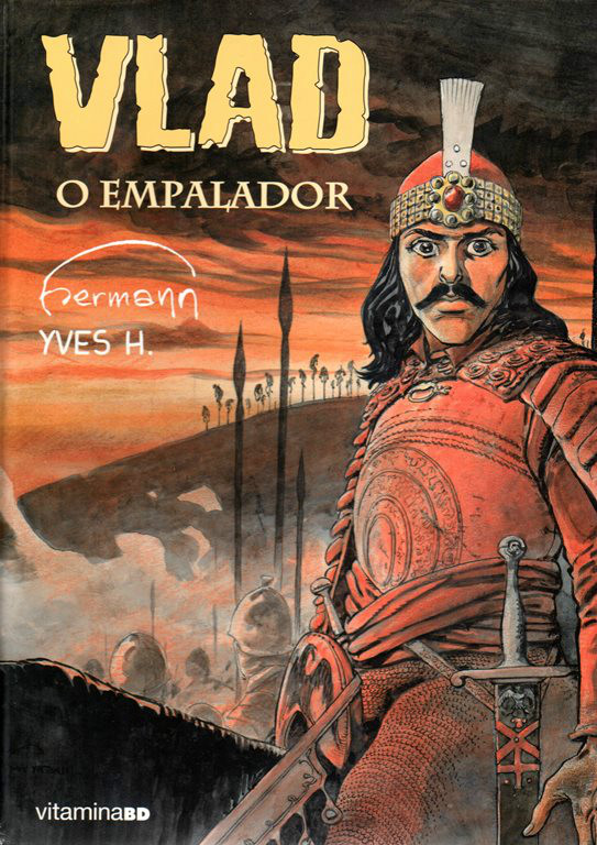 Capa  VLAD O EMPALADOR - 1 . VLAD O EMPALADOR