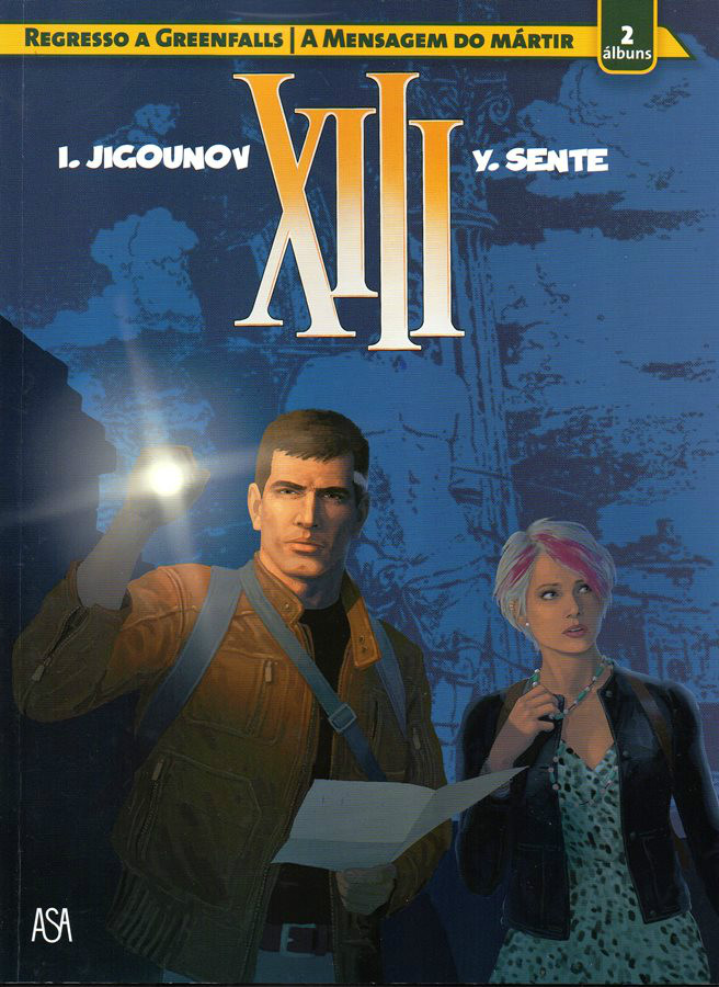 Capa de: xiii - 22 . REGRESSO A GREENFALLS
