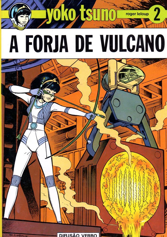 YOKO TSUNO - 3 . FORJA DE VULCANO (A)