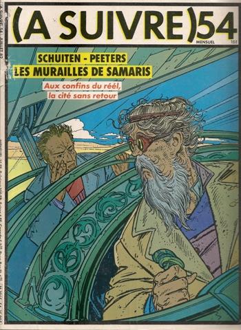 CITÉS OBSCURES (LES) - 1 . MURAILLES DE SAMARIS (LES)