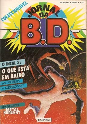 INCAL - 3 . QUE ESTÁ EM BAIXO (O)