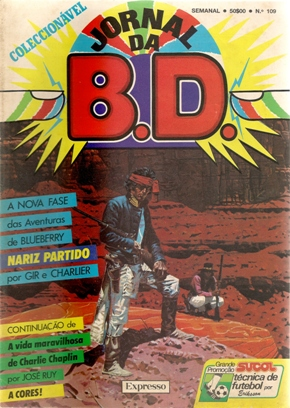BLUEBERRY - 18 . NARIZ PARTIDO