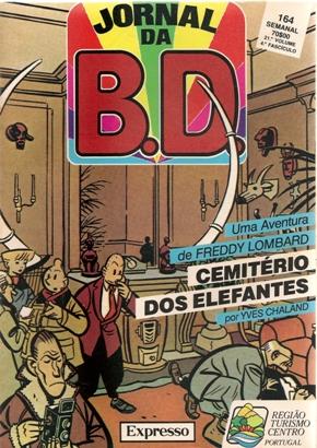 FREDDY LOMBARD - 2 . CEMITÉRIO DOS ELEFANTES (O)