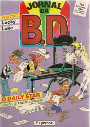 LUCKY LUKE - 53 . DAILY STAR (O)