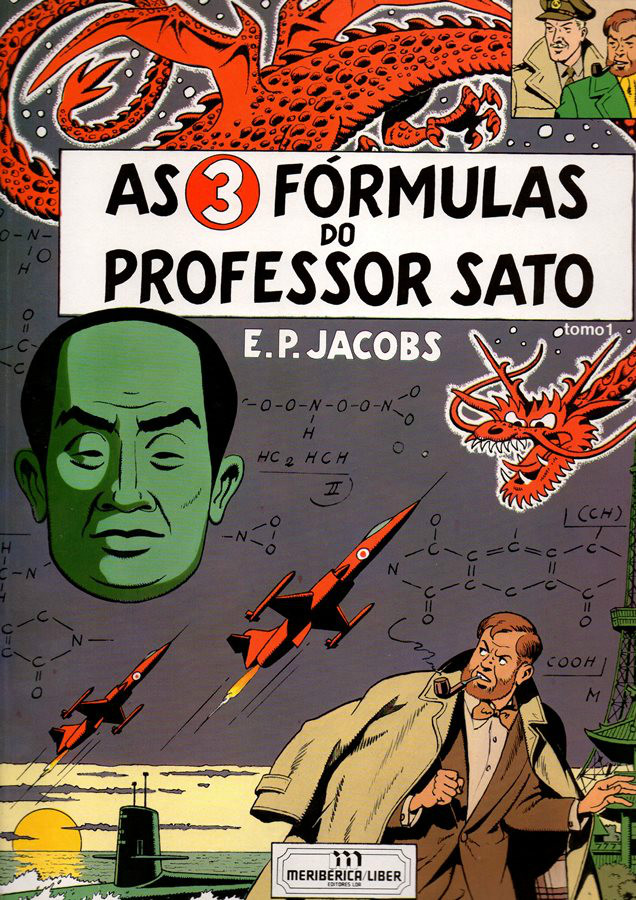 BLAKE ET MORTIMER - 11 . 3 FÓRMULAS DO PROFESSOR SATO - V. 1 (AS)