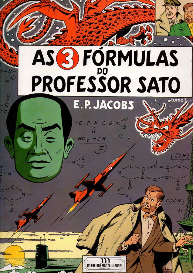 BLAKE ET MORTIMER - 11 . 3 FÓRMULAS DO PROFESSOR SATO - V. 1 (AS)