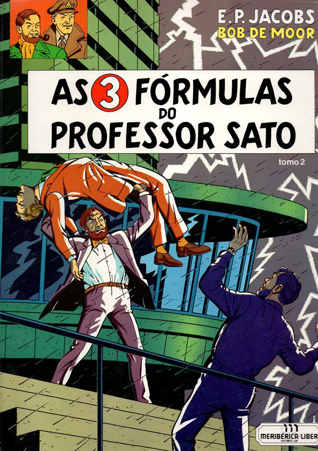 BLAKE ET MORTIMER - 12 . 3 FÓRMULAS DO PROFESSOR SATO - V. 2 (AS)
