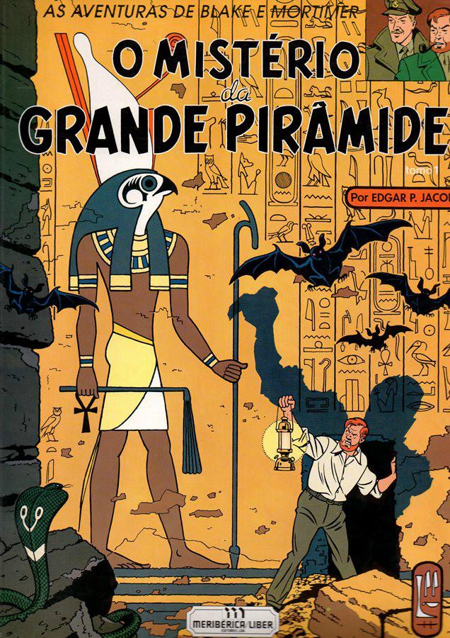 BLAKE ET MORTIMER - 4 . MISTÉRIO DA GRANDE PIRÂMIDE (O)- V. 1