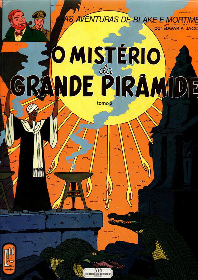 BLAKE ET MORTIMER - 5 . MISTÉRIO DA GRANDE PIRÂMIDE (O)- V.2