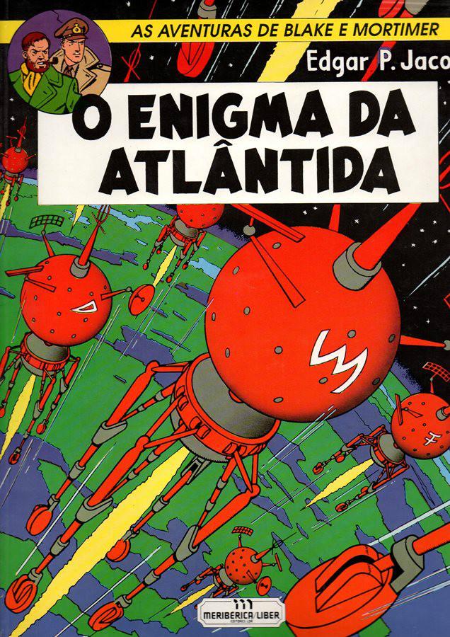 BLAKE ET MORTIMER - 7 . ENIGMA DA ATLÂNTIDA (O)