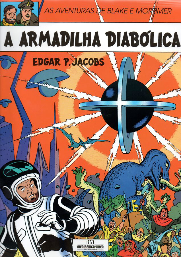 BLAKE ET MORTIMER - 9 . ARMADILHA DIABÓLICA (A)